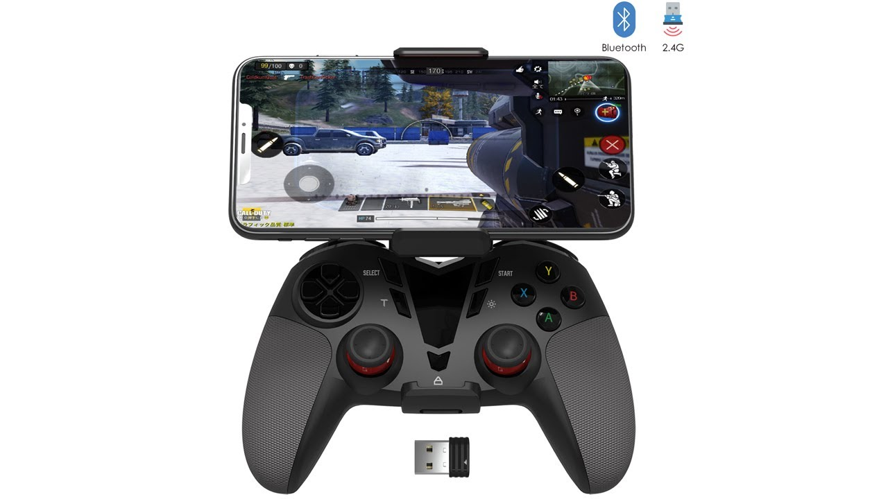 Download FO206 - Darkwalker Controller for Call of Duty Mobile Fortnite Mobile PUBG Mobile on Android OS
