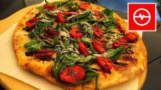Pizza z truskawką i pieprzem | Wysokie loty