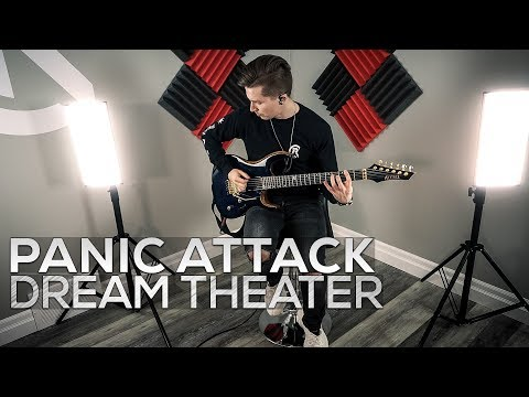 Dream Theater - Panic Attack - Cole Rolland (Guitar Cover)