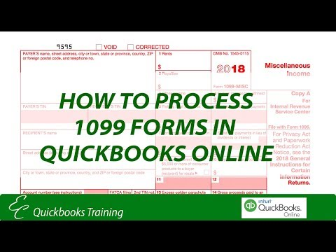 How To Process 1099 Forms In QuickBooks Online