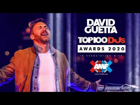 David Guetta   AMF Presents Top 100 DJs Awards 2020