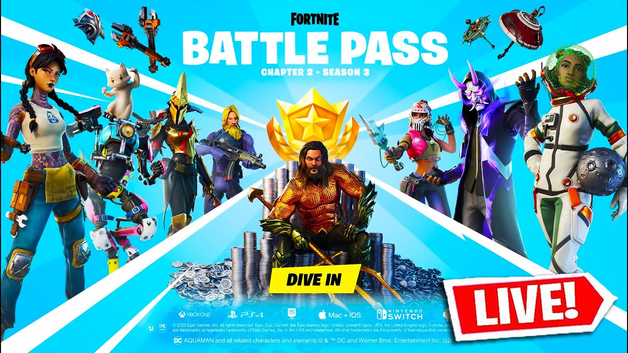 *NEW* FORTNITE SEASON 3! (NEW Map & Tier 100 Battle Pass)