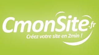 CmonSite pour créer un site ou une boutique en ligne !