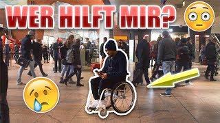WER HILFT MIR??? 😢 | Soziales Experiment | Leeroy Matata