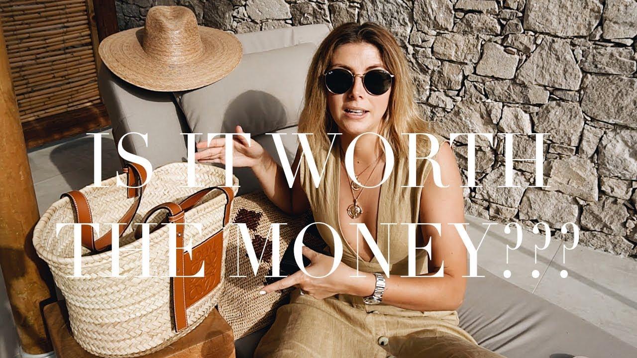 What's In My Beach Bag | Loewe Basket Bag Review