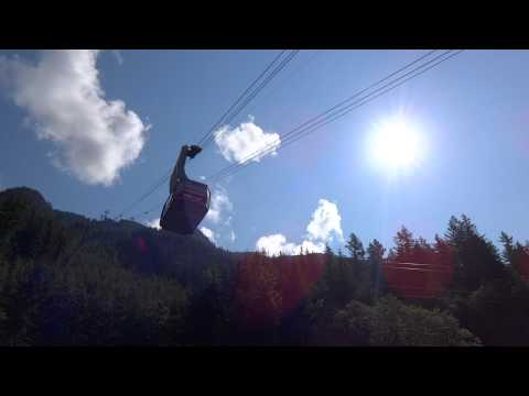 Vancouver   Grouse Mountain Cable Car 1