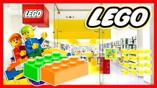 REAL LIFE The LEGO Store (Disney, Star Wars, LEGO Friends) - NEW YORK CITY