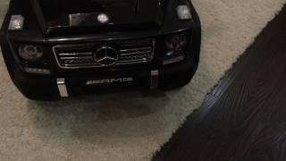 видео: Детский электромобиль Mercedes-Benz G65 AMG после тюнинга