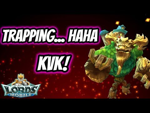 Lords Mobile - KvK - Trapping!