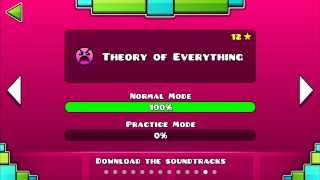 Geometry dash lvl 12 - Theory of Everything