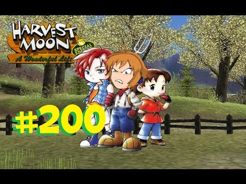 Harvest Moon: A Wonderful Life #200 | Stomach Growls Interrupt Everything