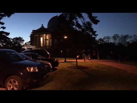 Dozens explore science, space at Cincinnati Observatory's Jupiter Night