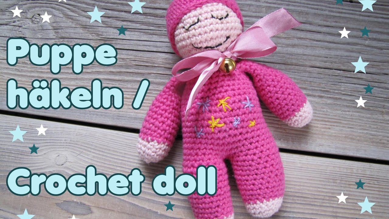 Einfache Puppe Häkeln Crochet Doll Eng Subs Youtube