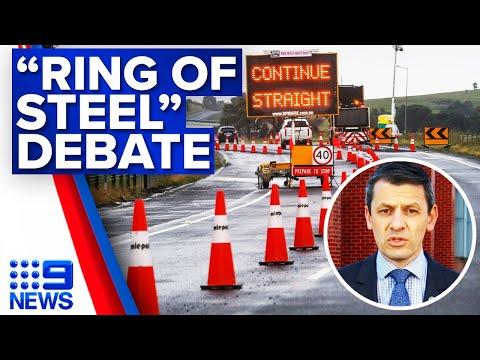 Authorities debate the effectiveness of 'ring of steel'   Coronavirus   9 News Australia