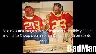 Suge revela que Snoop pagó a Crips para poder representar su barrio