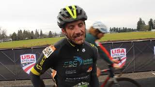 Caleb Thomson: 2019 Masters Men 35-39 Cyclocross National Champion