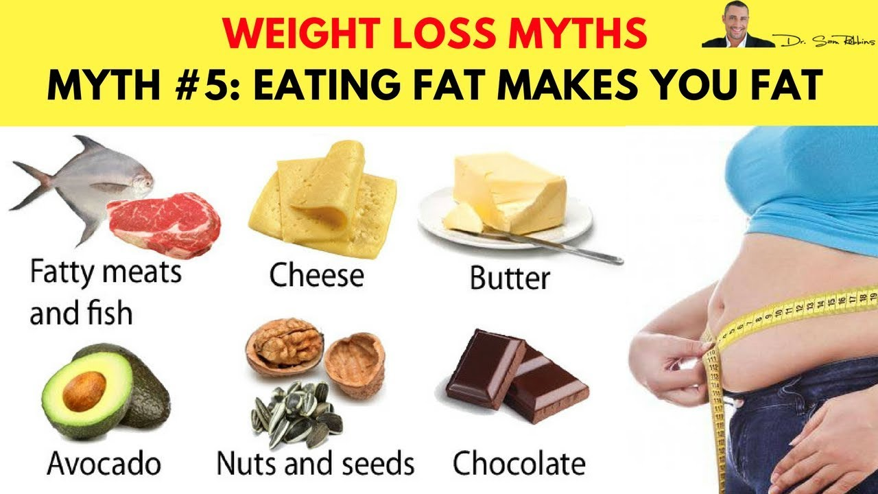 Myth 5 Eating Fat Makes You Fat- Top 10 Biggest Myths -3868