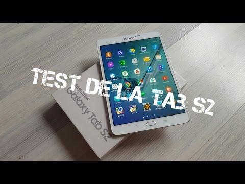 test tablette samsung tab s2
