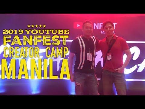 2019 YouTube Fanfest Creator Camp Manila Blue Leaf Filipinas City of Dreams