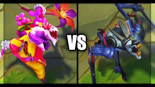 Legendary Surprise Party Fiddlesticks vs Praetorian Fiddlesticks Skins Comparison League of Legends