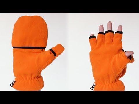 John Bartlett 3-M Thinsulate Men's Fingerless Gloves/Mittens