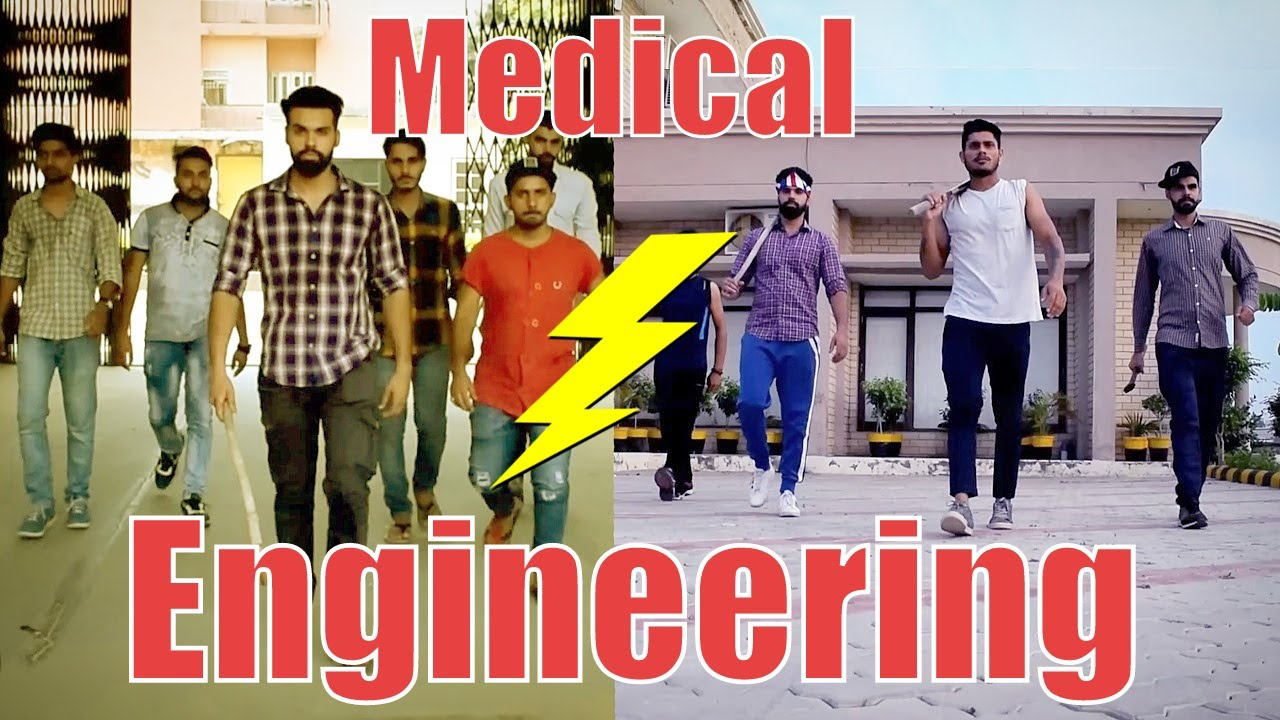 Medical Vs Engineering Life Funny Hrzero8 Youtube