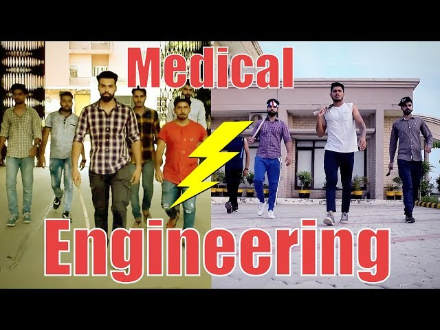 Medical vs Engineering life | Funny | | HRzero8 |