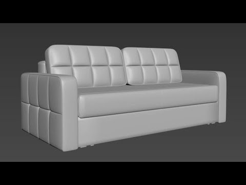 Уроки 3ds Max. Моделирование дивана с нуля Часть 4 (моделирование приспинных подушек)
