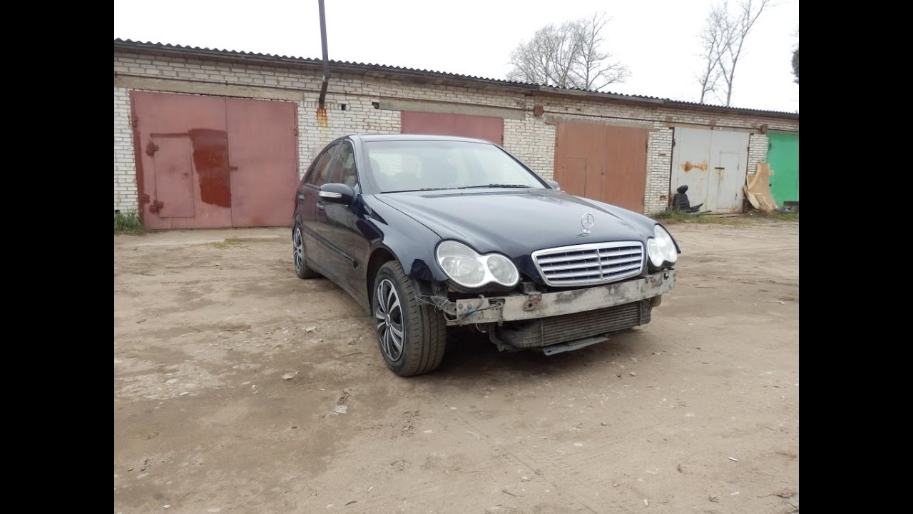 Mercedes Benz W 203 C220 CDI 150 poni на покраске 3