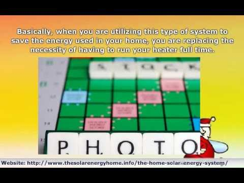 Help Save Your Bank Account by Using a Home Solar Energy Sys