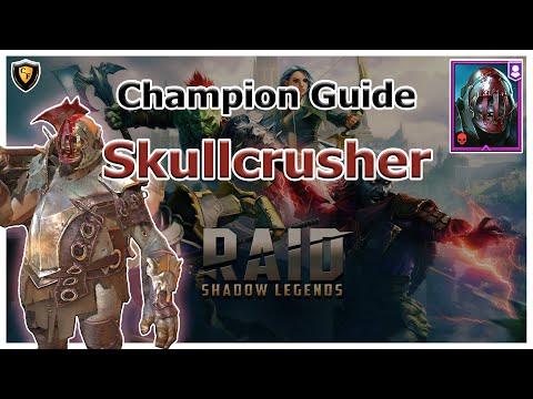 RAID Shadow Legends   Champion Guide   Skullcrusher