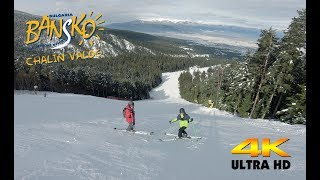 Bulgaria Skiing - Bansko - Chalin Valog 1 Black - 4K Video