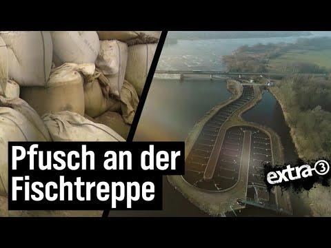 Realer Irrsinn: Pfusch an der Fischtreppe in Geesthacht | extra 3 | NDR