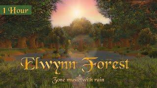 Elwynn Forest Music & Rain Ambience (1 hr, World of Warcraft) for Relaxing, Sleep, Meditation, Study