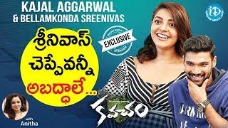 Actor Bellamkonda Srinivas & Actress Kajal Aggarwal Exclusive Interview|| Talking Movies With iDream
