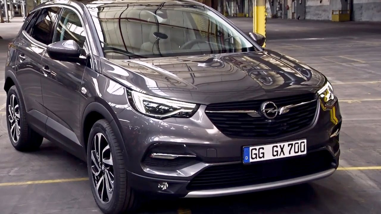 2018 Opel Grandland X Youtube