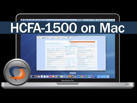 Run HCFA-1500 on Mac
