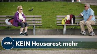 Sachsen-anhalt lockert die seit sechs wochen geltenden kontaktbeschränkungen. von montag an dürfen fünf menschen zusammen unterwegs sein, auch wenn sie nicht...