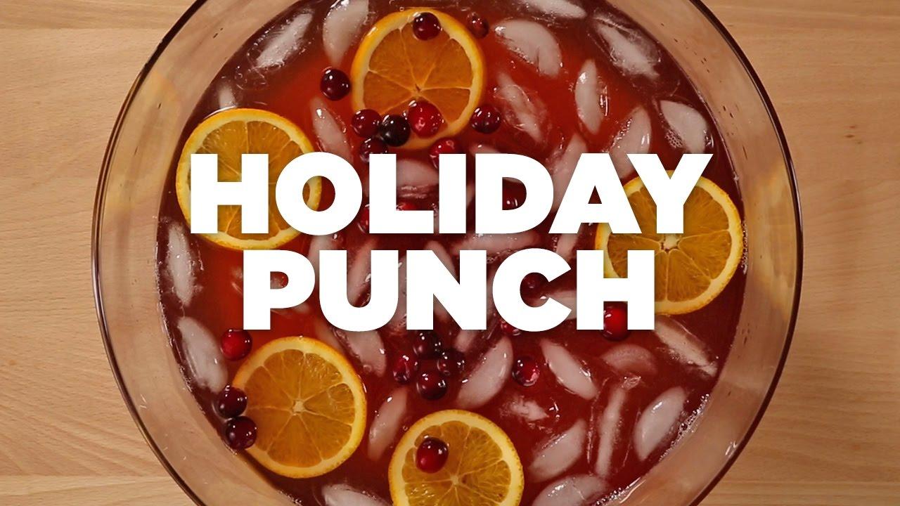 Holiday Punch - Harris Teeter Holiday Recipes - YouTube