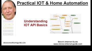 IOT API Basics For Beginners