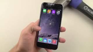 Unfalltest iPhone 6 CRASH TEST Apple ТЕЛЕФОН СМОТРЕТЬ ПРИКОЛ