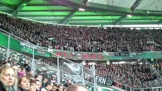 VfL Wolfsburg - Hannover 96 / 19.11.2011 / Scha-la-la Hannover 96