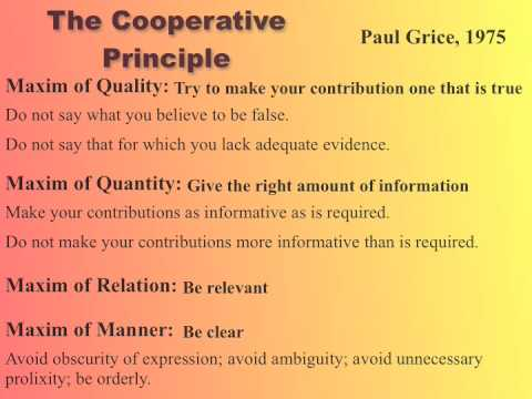 4. Introduction to Pragmatics