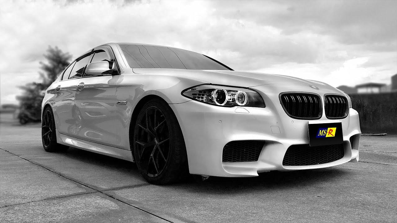 MS-R改裝系列 BMW F10 535i M-sport - YouTube