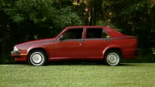 MotorWeek | Retro Review: '88 Alfa Romeo Milano