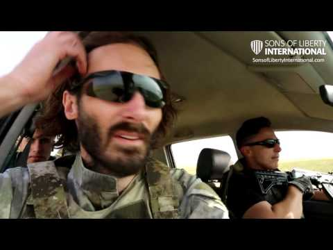 Sons Of Liberty International And Iraqi Assyrian Christians In Combat Against ISIS In Teleskof, Iraq