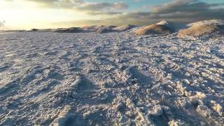 Aerial shelf ice Indiana Dunes 2014 1080P