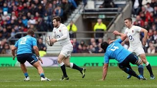 Interesting Italian defensive tactics! | RBS 6 Nations