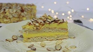 Swedish Almond Cake | Almond IKEA Cake | Gluten-free Almond Ca…