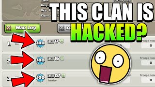 OMG 😲 THIS CLAN HAS UNBELIEVABLE STRANGE PLAYERS | Strange Players | Clash Of Clans |